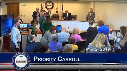 Carroll County commissioners highlight children's mental health, addiction prevention