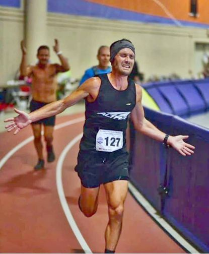 Zach Bitter set a record for running 100 miles.
