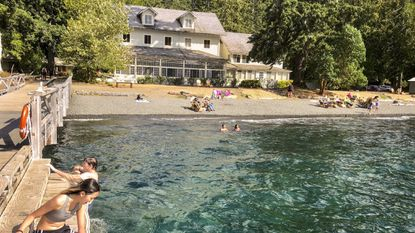 Chill out at Lake Crescent on a weekend escape to Washington's Olympic National Park