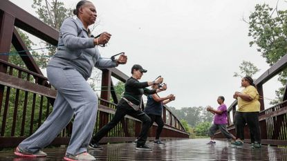 Saturday walk offers health benefits and friendship