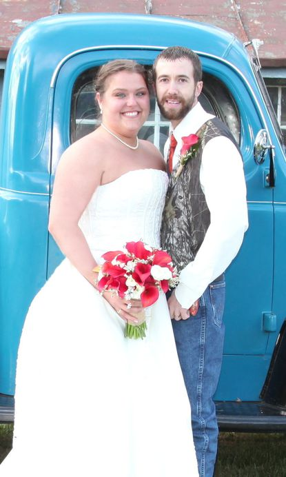 Kayla Knable and Brandon Stambaugh were married Oct. 22, 2016 - Original Credit: Submitted Photo