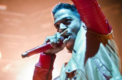 Kid Cudi at Merriweather Post Pavilion during the Sweetlife Music Festival