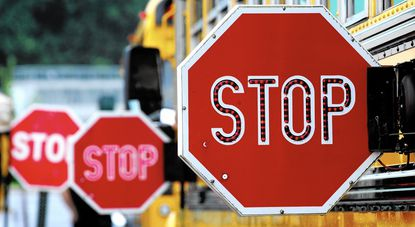 School bus stop violations have declined, but safety still a concern