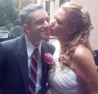 Rob and Paula Notrica were married Sunday and had a reception in Fells Point.