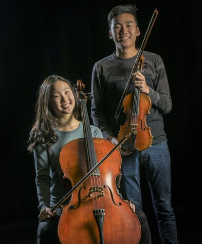 Glenelg High students Sihyun Jennifer Park, a 10th grade cellist, and Max Lu, a senior violinist, won awards in November. Jenny won first place in the Golden Classical Music Awards and was invited to perform at Carnegie Hall. Max won an international composition contest and traveled to Vienna, Austria.