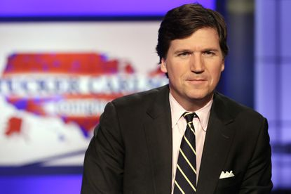 Protesters target home of Fox News host Tucker Carlson