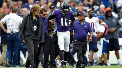 Ravens rule out five players for Sunday's game; former Terp Stefon Diggs won't play for Vikings
