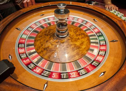 The Roulette wheel spins at the Maryland Live casino at Arundel Mills in Hanover