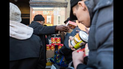 If I Ruled The World: 300 Gangstas offer turkey, community, and old-school rap to Monument Street