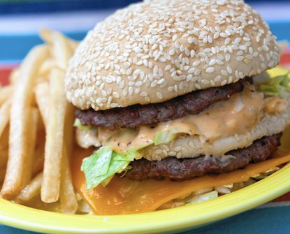This classic fast-food burger is perfect for a Ravens tailgate, says John Thomas of grilling24x7.com.
