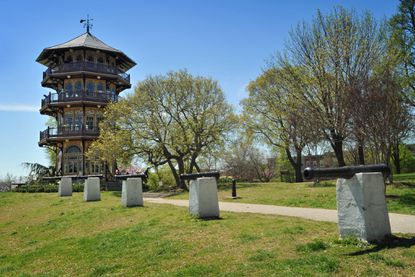Patterson Park was named one of the best city parks by Thrillist.