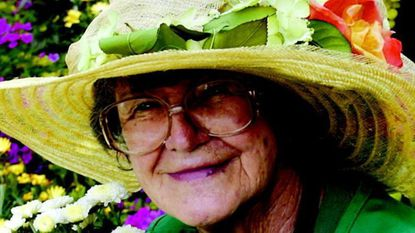 Rosemary Easley was a familiar figure at Garland's Garden Center on Ingleside Avenue in Catonsville with her colorful hats decorated with flowers.