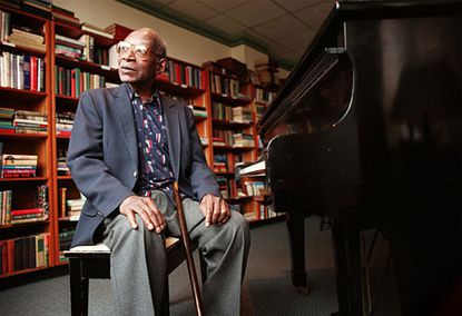 Ellis Larkins was a celebrated jazz pianist who was an accompanist for Ella Fitzgerald and other jazz greats.