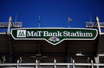 Could the Ravens offer sports betting at M&T Bank Stadium in downtown Baltimore? Team officials won't say if they want to be included in legislation that would legalize sports betting in Maryland.