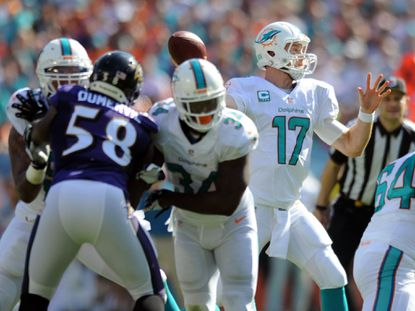 Ravens-Dolphins scouting report