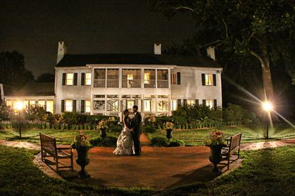 A wedding at Swan Harbor Farm, voted best place to rent for special occasions.