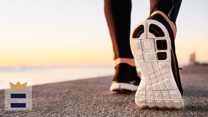If you'd like to prevent feet from getting too warm or sweaty, opt for a pair of running shoes made with breathable materials, like mesh panels.