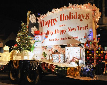 The Carroll Hospital Center's float was a favorite in last year's electric parade on Main Street in Westminster. This year's edition will run Saturday, Nov. 24.