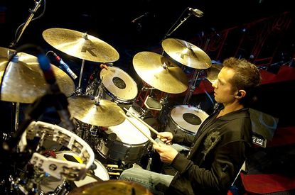 """Westminster High School graduate Matt Billingslea is the touring percussionist for Taylor Swift. He's traveling all over the world as part of Swift's """"Red"""" tour."""