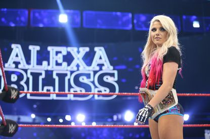 Alexa Bliss talks her shift to Raw, becoming champ, kendo sticks and more