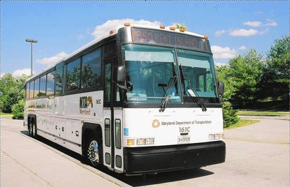 A new commuter bus route that began operating Oct. 3 is transporting people from Baltimore City to jobs in Harford County, including at Aberdeen Proving Ground.