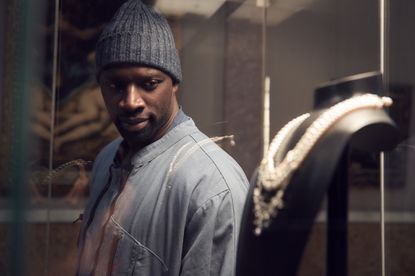 """Omar Sy stars in the French series """"Lupin"""" on Netflix. Original Credit: Netflix. Emmanuel Guimier/Netflix."""