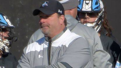 Johns Hopkins coach Dave Pietramala, shown in a game earlier this season, hopes his team can build off its 15-13 victory over 18th-ranked Rutgers.