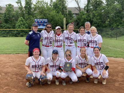 The Bel Air Bobcats girls softball team won the Class 3A North Region II championship on Saturday.