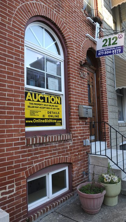 Sales of distressed properties in the Baltimore region continued to distort the area's real estate market in October, inflating overall sales but acting as a drag on home prices, according to the monthly report from the regional multiple listing service.