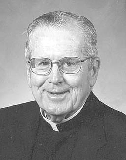 Msgr. Edward J. Lynch was pastor emeritus of Immaculate Conception Roman Catholic Church in Towson.