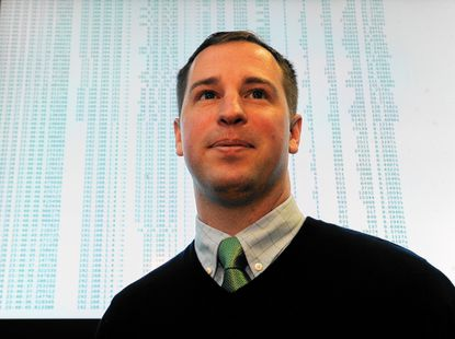 William Glodek, branch chief of the network security branch of the U.S. Army Research Laboratory, and a team have developed Dshell, open source software to analyze cyber threats.