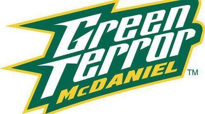McDaniel College Green Terror logo