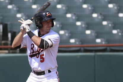 Orioles shortstop prospect with the Bowie Baysox this season.