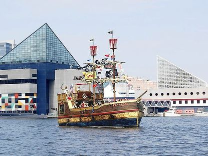 The Fearless is the flagship of the Urban Pirates, who set sail in and around Baltimore.