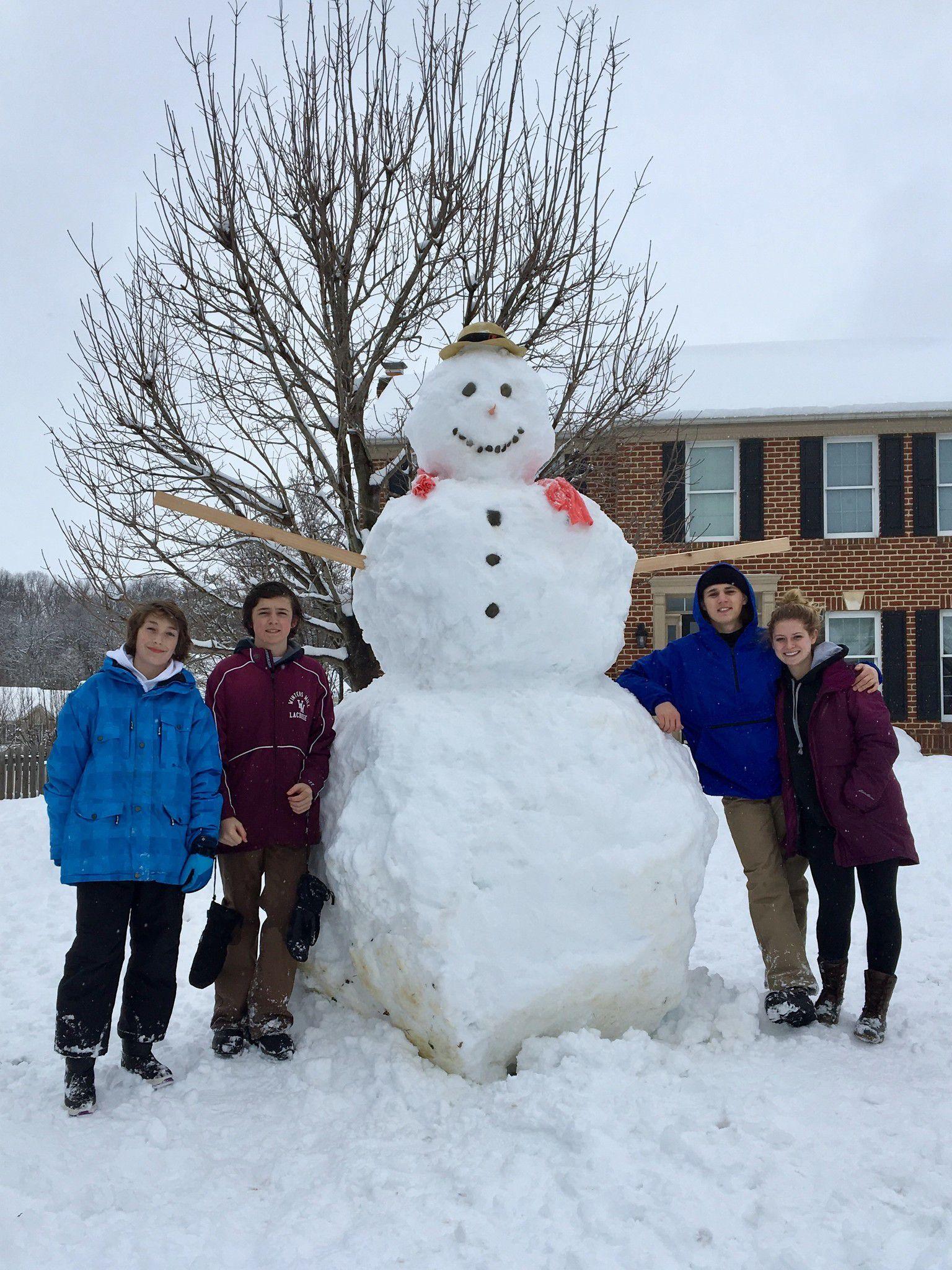 Details about  /Sledding Snowmen Pair