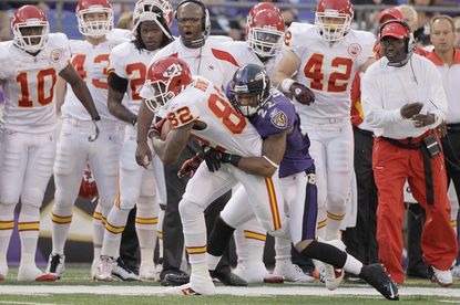 Ravens notes: Chiefs give rookie CB Smith special attention
