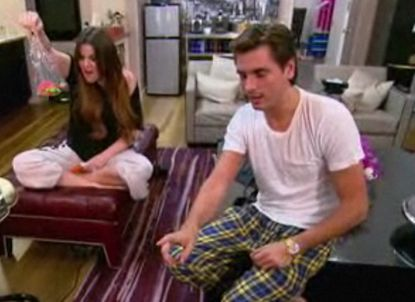 Khloe teaches Scott something about parenting.