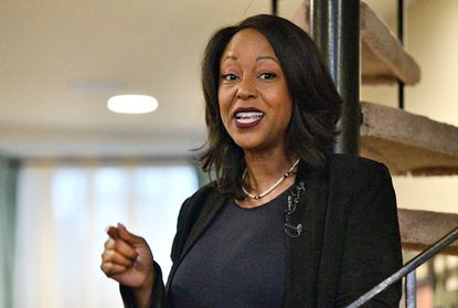 Maya Rockeymoore Cummings, who is running for her late husband's seat in Congress, is recovering after a successful double mastectomy at Johns Hopkins Hospital on Friday.