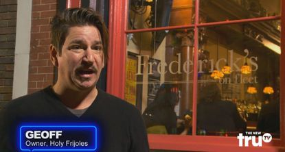 "Holy Frijoles owner Geoff Danek takes over Frederick's on Fleet in an episode of ""Barmadeddon."""