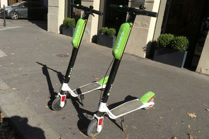 Lime will reactivate scooters May 2 to help transport essential medical personnel to work during the pandemic.