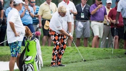 John Daly's pants at the Senior Players Championship are for the Birds