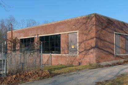 The shuttered Rosewood Center in Baltimore County was the site of a police training academy accident.
