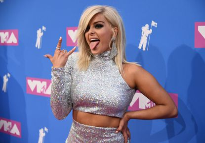 "Bebe Rexha said ""a lot of"" designers refused to dress her because she was too big."