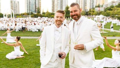 What is one actually paying for at Le Diner en Blanc?