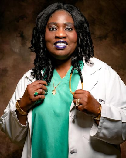 Dr. Njdeka Udochi strives to treat all of her patients as if they were her family.