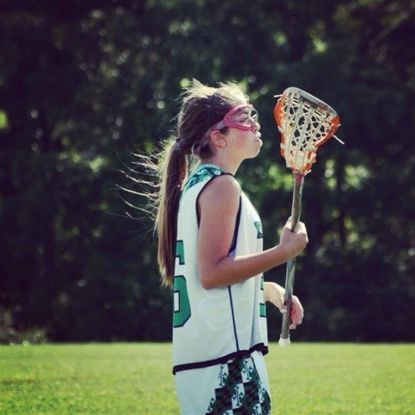 West Towson resident Sky Campbell has played at various levels for the Kelly Post girls lacrosse program.