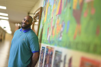 Aberdeen High School graduate Jai Lewis will be honored March 12 as the Mason Legend for the 2016 Atlantic 10 Conference in Brooklyn, N.Y. After years playing pro hoops abroad, Lewis is now a behavorial specialist at Halstead Academy in Parkville.