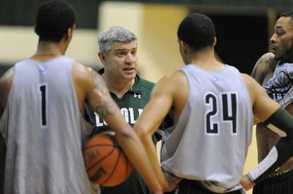 The Loyola men's basketball team is 8-1, its best start to a season under coach Jimmy Patsos, whose Greyhounds have a tough week ahead with trips to St. Bonaveture and Kentucky.