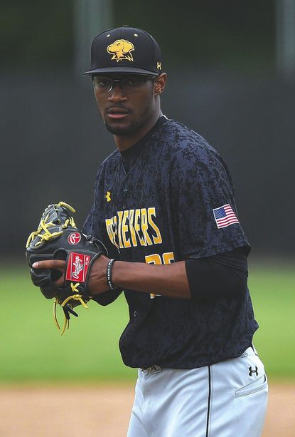 Michael Austin of Eldersburg has seen action in the NCAA baseball tournament with Bethune-Cookman before transferring to UMBC. After a rough start to the season, Austin - and the Retrievers - are peaking at the right time.