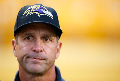 Ranking the Ravens behind the Browns in early NFL power rankings? John Harbaugh would not be impressed.